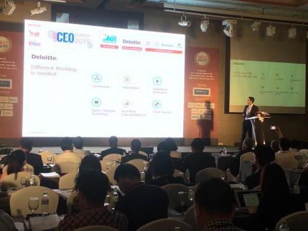 Vietnam CEO Summit 2019 held in Hanoi hinh anh 1