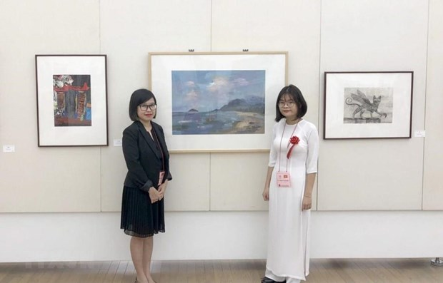Vietnamese student wins prize at Japan's high school arts festival hinh anh 1