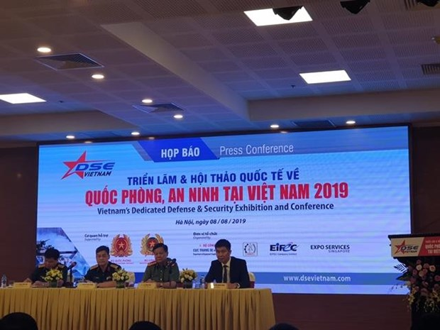 First int'l defence-security exhibition and conference to be held in Hanoi hinh anh 1