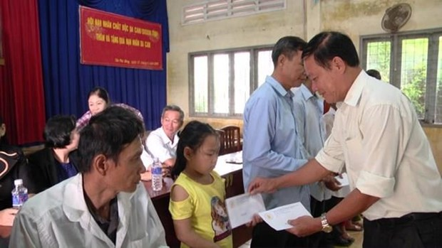 Tien Giang raises over 430,000 USD for AO/dioxin victims in 7 months hinh anh 1