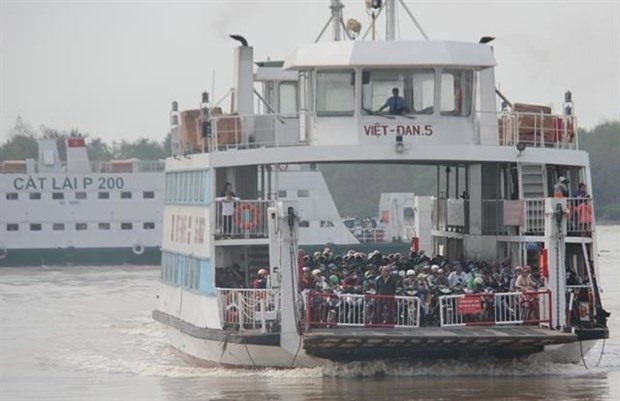 Ferries linking Can Gio, Vung Tau to start this year hinh anh 1