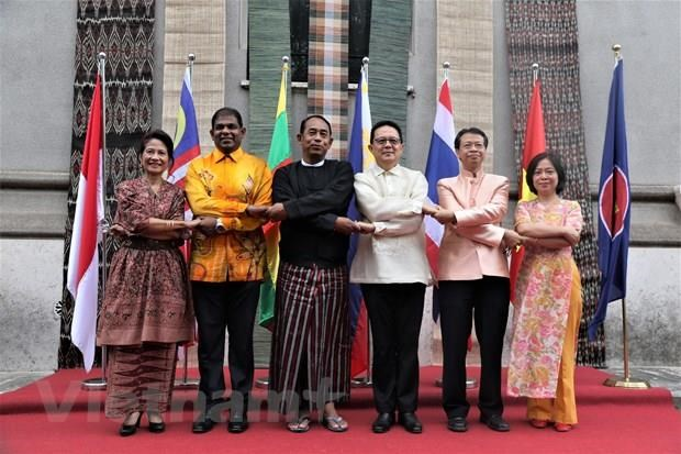 ASEAN's 52nd anniversary observed worldwide hinh anh 1