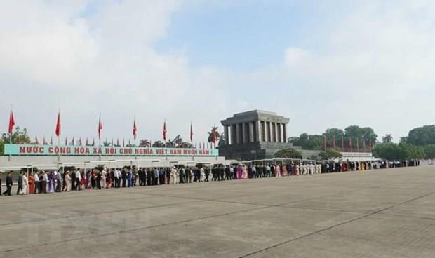President Ho Chi Minh Mausoleum reopens to visitors hinh anh 1