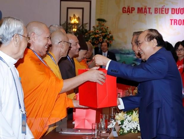 Interests of each religion intertwined with those of nation: PM hinh anh 2