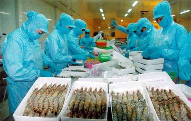 Vietnam keeps goal of export value growth at 7.5 percent in 2019 hinh anh 1