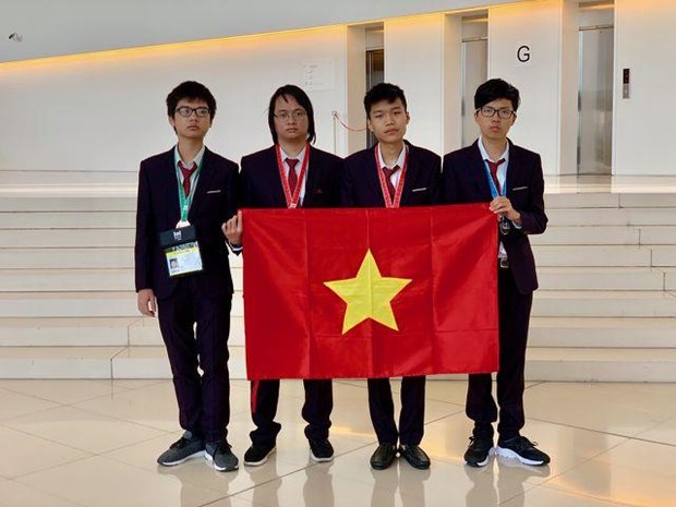 Vietnam ranks fourth at Int'l Informatics Olympiad 2019 hinh anh 1