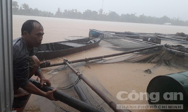 Severe floods kill two in Dong Nai hinh anh 1