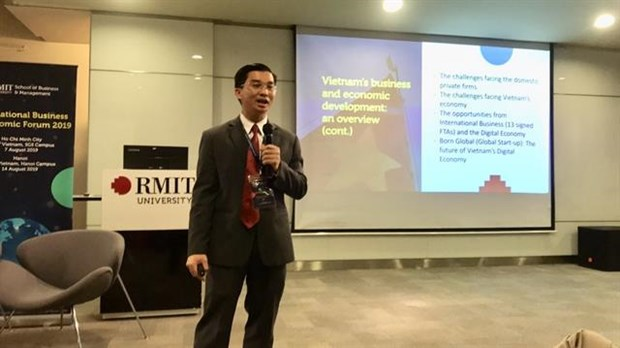 VN start-ups eyeing the world must have global mindset: forum hinh anh 1