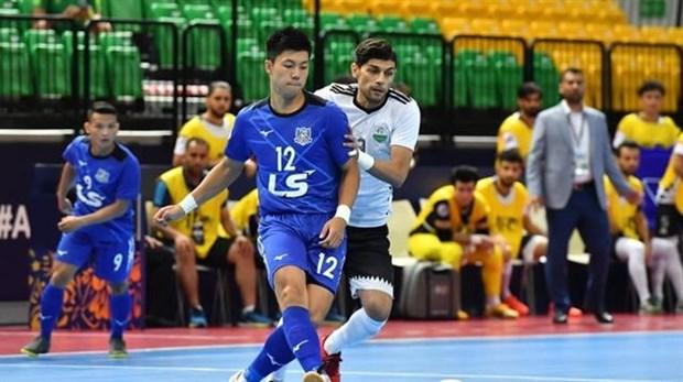 Thai Son Nam advance to quarters of AFC Futsal Club Champ hinh anh 1