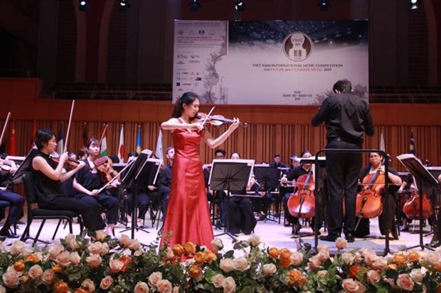 First Vietnam International Music Competition wraps up hinh anh 1