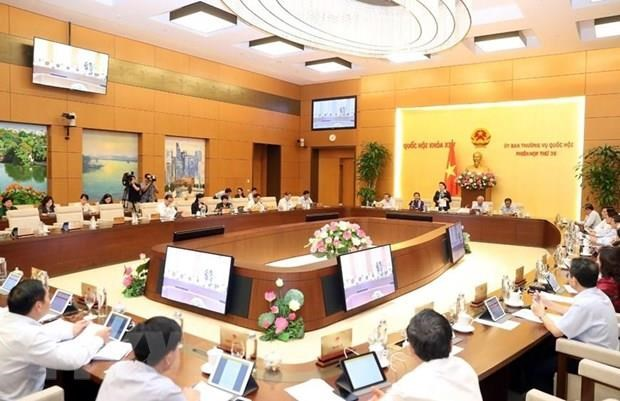 NA Standing Committee's 36th session opens hinh anh 1