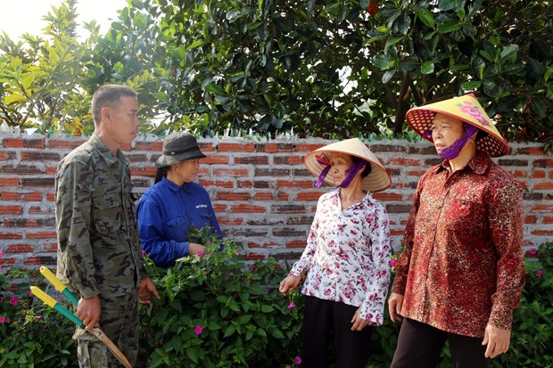Quang Ninh has first model new style rural commune hinh anh 1
