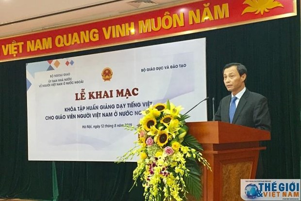 Training course for Vietnamese language teachers opens hinh anh 1