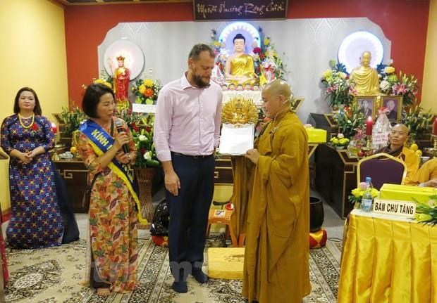 Vietnamese's Buddhist cultural centre in Czech Republic gets provincial status hinh anh 1