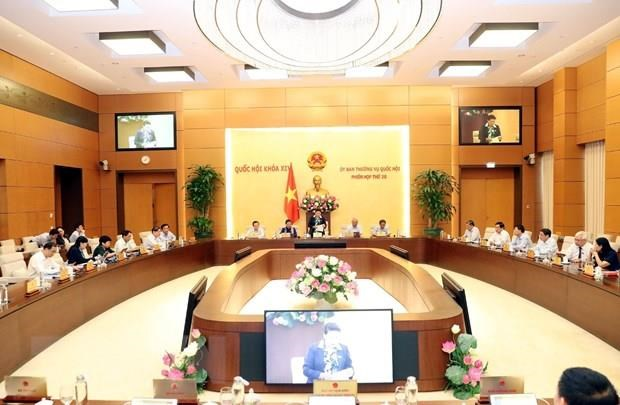 NA Standing Committee to question 15 ministers hinh anh 1