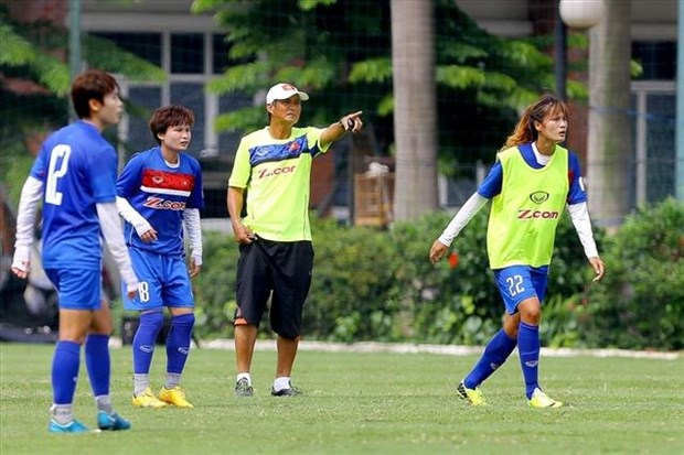 Vietnamese women's team head to Thailand in search of glory hinh anh 1