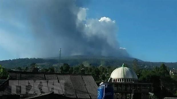 Indonesia bans activities around Volcano Merapi hinh anh 1