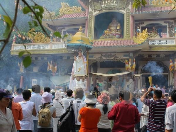 Linh Son Thanh Mau festival recognised as national intangible cultural heritage hinh anh 1