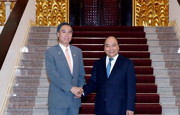 PM receives Governor of Japan's Nagano prefecture hinh anh 1