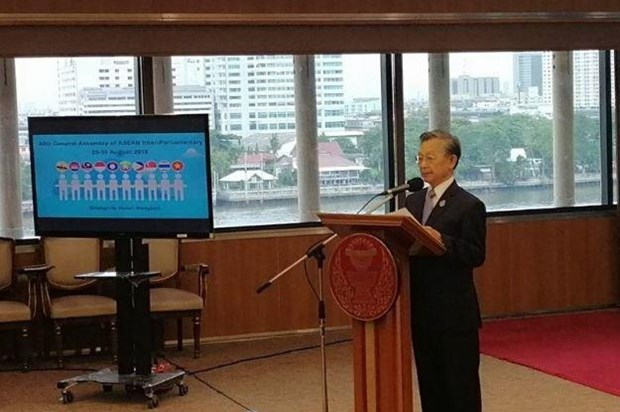 Thai House Speaker assures envoys of readiness for AIPA summit hinh anh 1