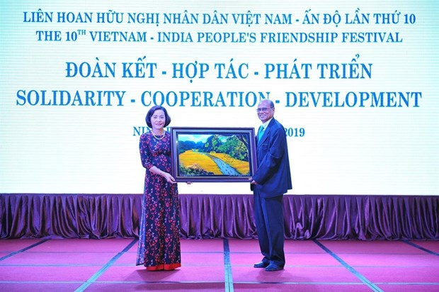 Vietnam-India friendship festival kicks off in Ninh Binh hinh anh 1