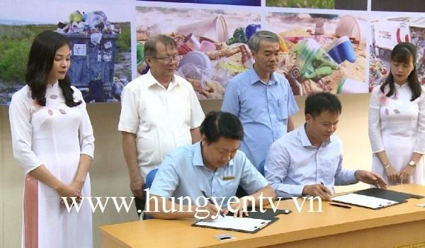 """""""Say no to plastic waste"""" contest launched in Hung Yen hinh anh 1"""