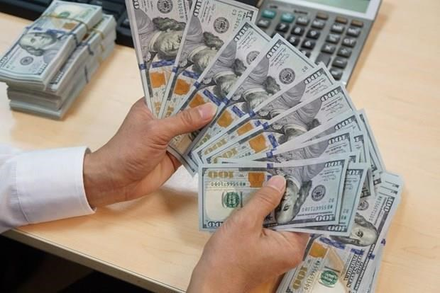 Reference exchange rate down 6 VND on August 15 hinh anh 1