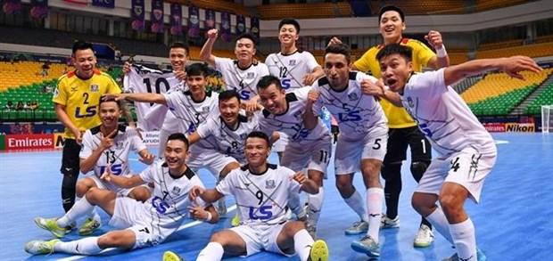 Thai Son Nam enter AFC Futsal Club Championship semifinals hinh anh 1