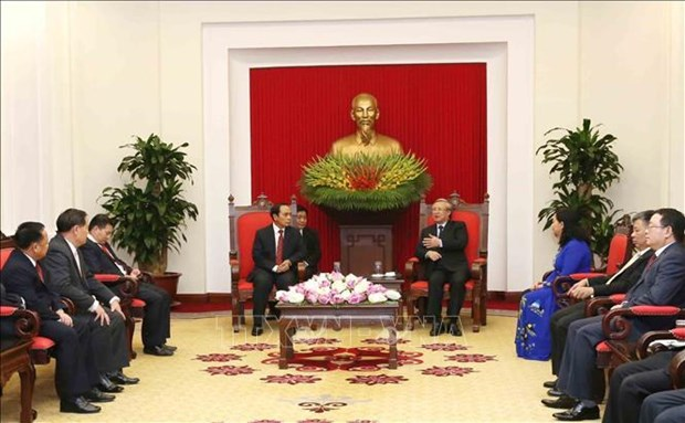 Vietnam, Laos forge inspection cooperation hinh anh 1