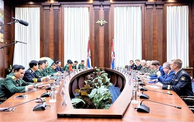 Vietnam, Russia foster defence cooperation hinh anh 1