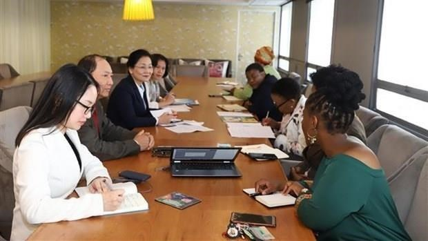 Vietnam, South Africa boost cooperation for women's development hinh anh 1