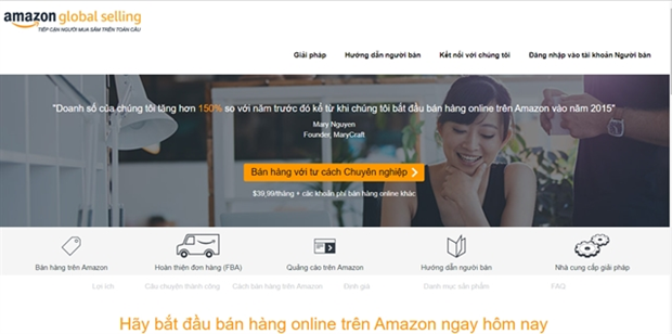 Amazon establishes subsidiary in Vietnam hinh anh 1