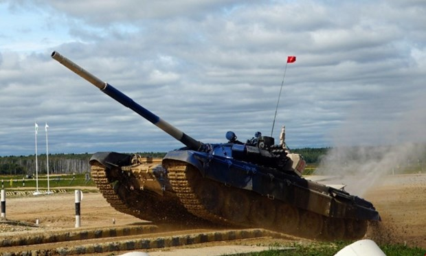 Vietnamese tank crew come second at Army Games 2019 in Russia hinh anh 1