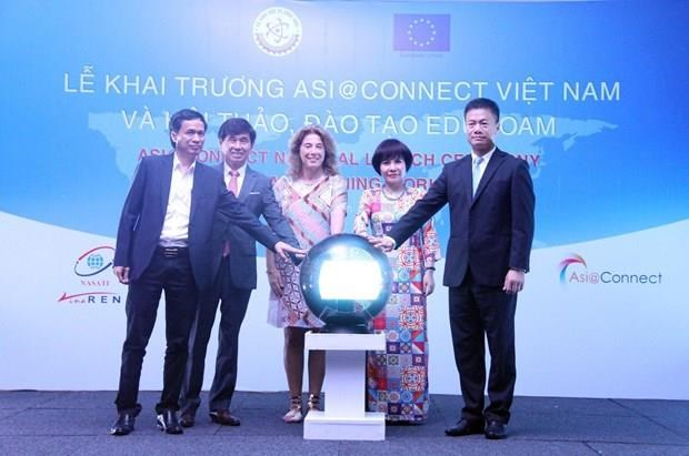 Asia@Connect project launched to bridge regional R&E activities hinh anh 1