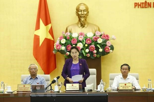NA Standing Committee wraps up 36th session hinh anh 1