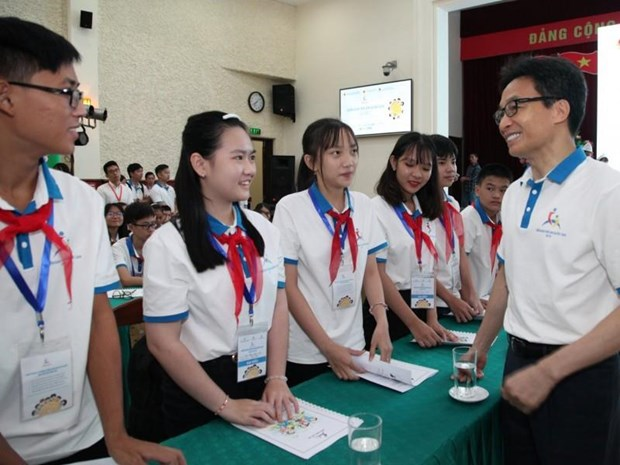 National forum encourages children to raise their voice hinh anh 1