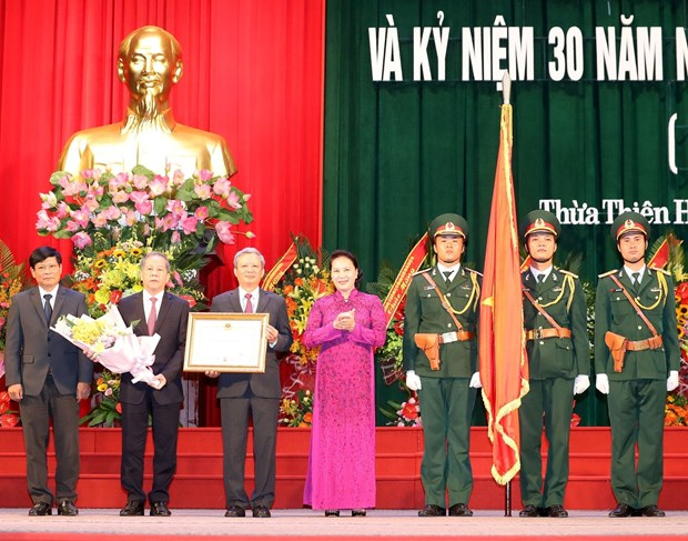 Thua Thien-Hue marks 30th anniversary of province's re-establishment hinh anh 1