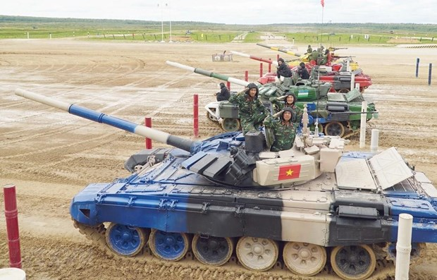 Vietnam reaps better-than-expected results at Army Games hinh anh 1