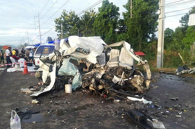Traffic accident kills 11, injuries four in Thailand hinh anh 1