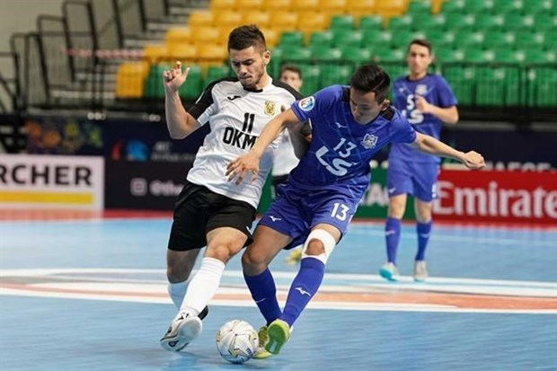 Vietnam's Thai Son Nam win bronze medal at AFC futsal champs hinh anh 1