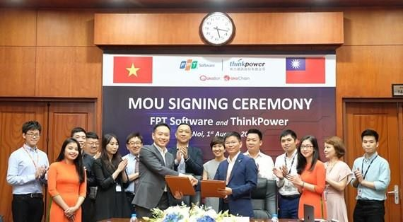 FPT Software's solution, platform to be commercialised in Taiwan hinh anh 1