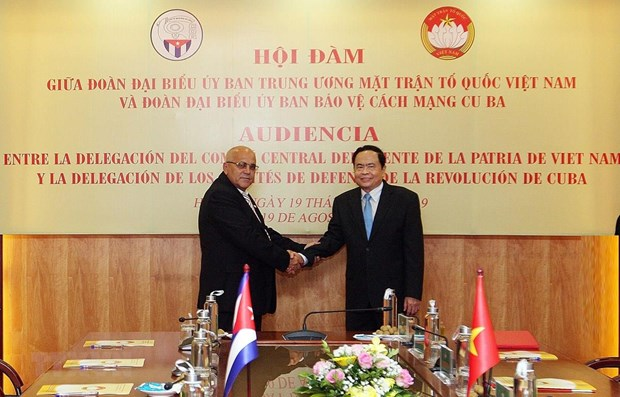 Front leader: Vietnam ready to share reform experience with Cuba hinh anh 1
