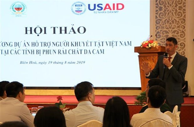 USAID-funded project to support people with disabilities hinh anh 1