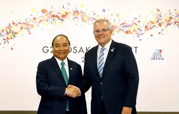 Australian PM's visit to open new prospects for bilateral ties: diplomat hinh anh 1