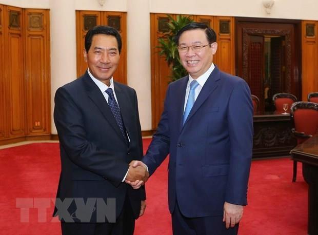 Deputy PM lauds growing ties between Vietnamese, Lao NAs hinh anh 1