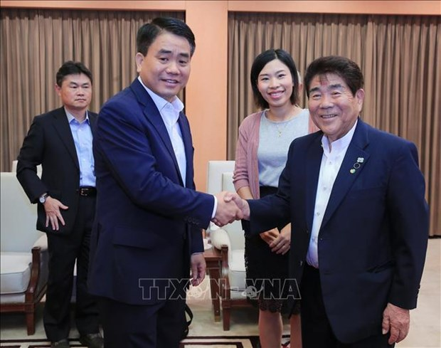 Hanoi leader expresses support for Japanese firms hinh anh 1