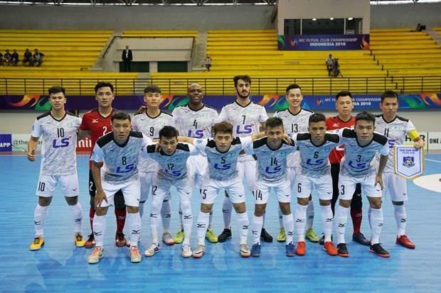 AFC congratulates Thai Son Nam futsal club hinh anh 1