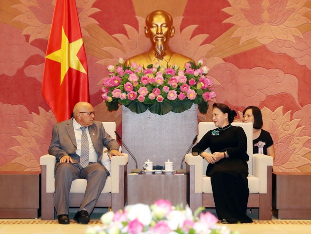 NA Chairwoman hosts President of Cuban Committee for Defence of Revolution hinh anh 1