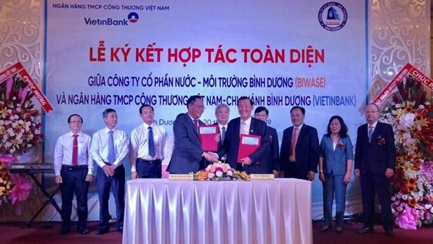Biwase, Vietinbank form comprehensive partnership for water supply hinh anh 1