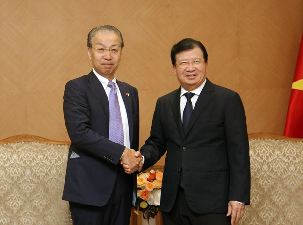 Deputy PM applauds JX NOEX's cooperation proposals hinh anh 1